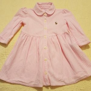 Ralph Lauren baby dress size 6M
